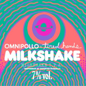 milkshake IPA label